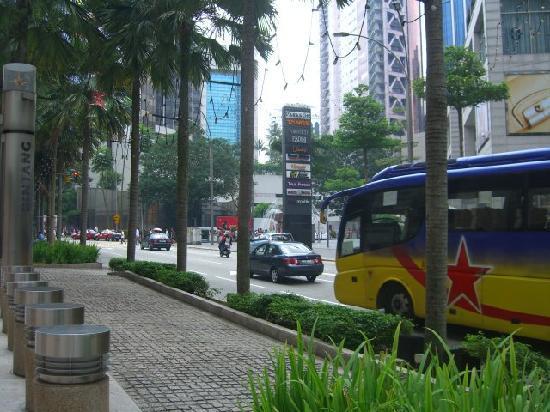 The Westin Kuala Lumpur : just outside the hotel
