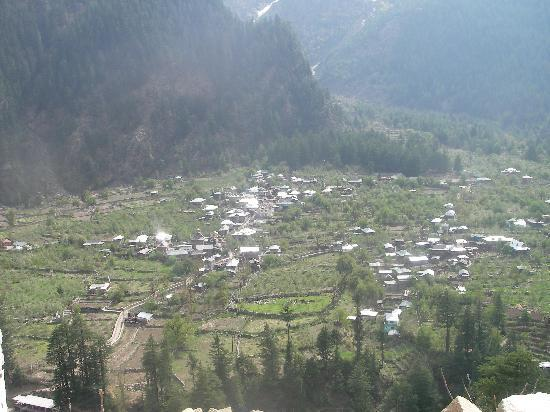 Sangla, India: Batseri village