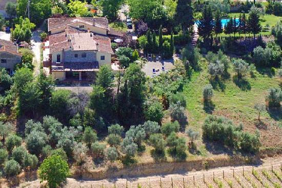 La Valle a Polvereto: Our Farmhouse