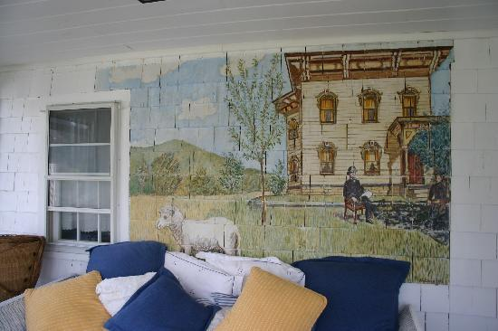 Vineyard Haven, MA: our sitting area