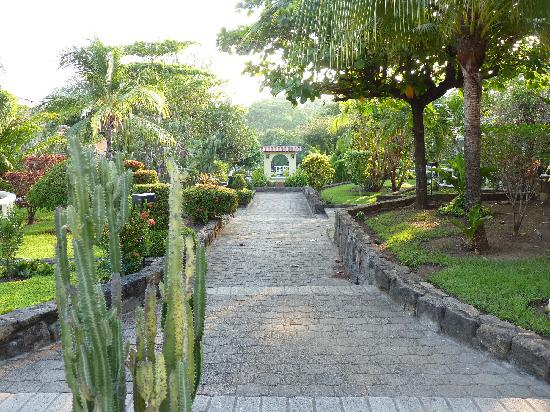 Villa del Sueno: Early morning in the grounds