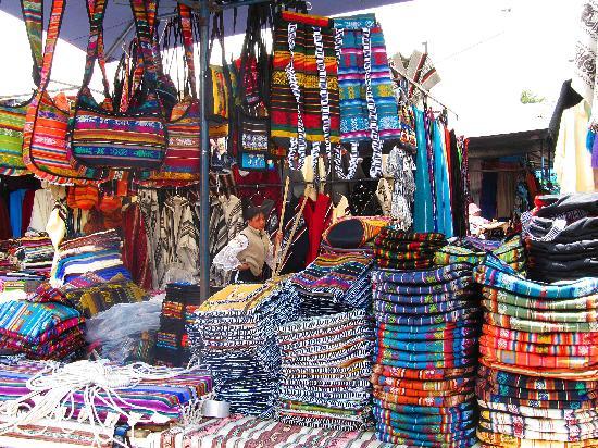 Otavalo, Ισημερινός: Textiles!