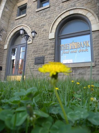The Bank Food and Drink: springtime at the bank!