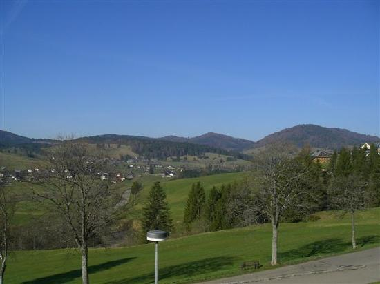 Gastehaus Bernau: la vue depuis le balcon