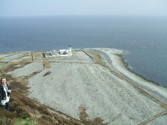Cosses Country House: The view from Ailsa Craig