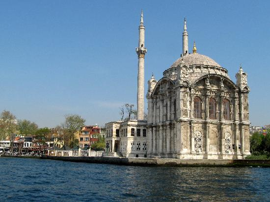 Sumahan on the Water: View of the Ortakoy Mosque from Sumahan's boat