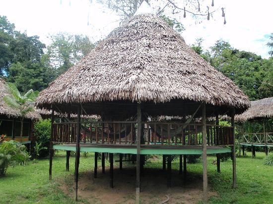 Cumaceba Amazon Lodge: One two hammock huts.