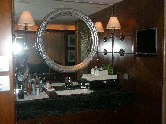 Mandarin Oriental, Hong Kong : bathroom area