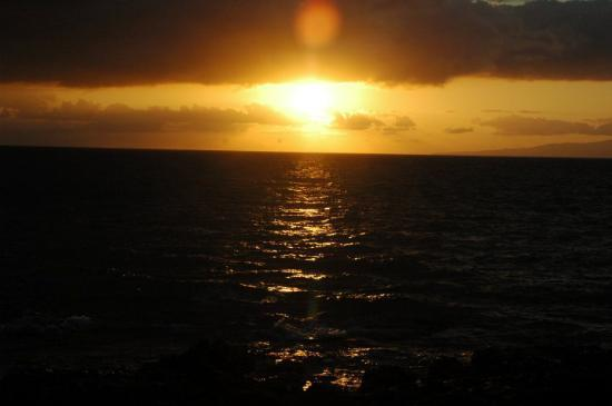 Wailea, HI: Sunset on Maui.