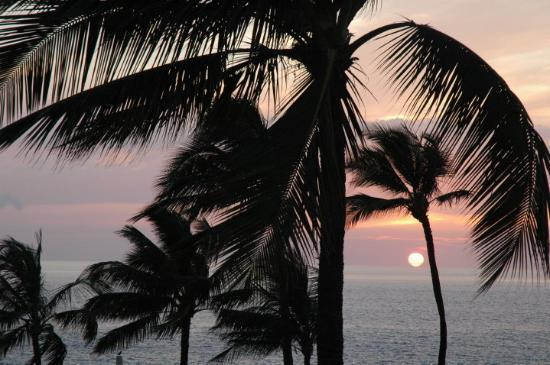 Wailea (Maui), HI: Sunset at Mala's.