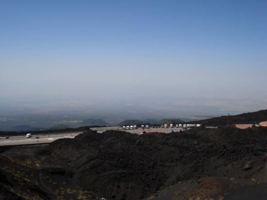 Zafferana Etnea, Italien: Priveliste Vulcanul Etna