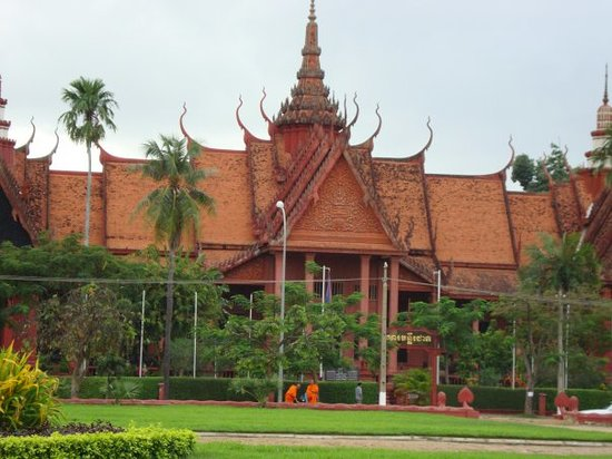 The museum Phnom Penh