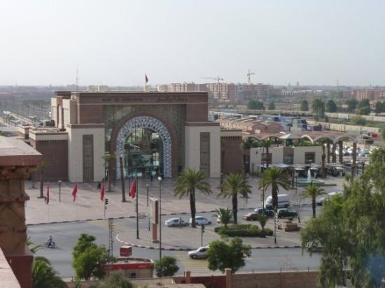 Casablanca, Marokko: Marrakech Railway Station.