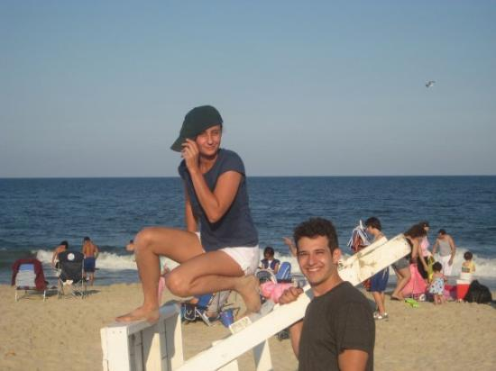 Seaside Heights, NJ: Sea Side, NJ W/ James