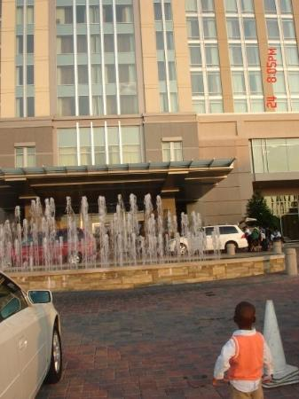 Montgomery, AL: front of hotel