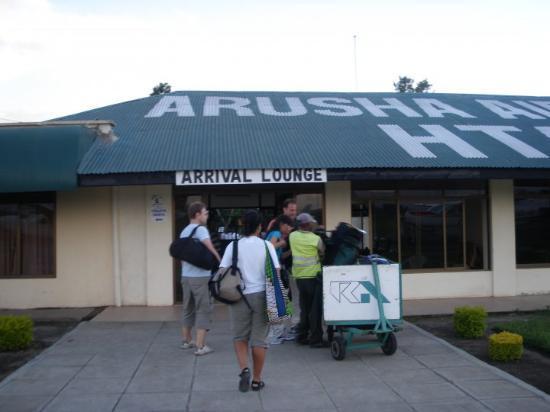 Arusha på väg till safari