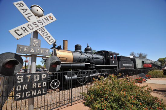 Скоттсдейл, Аризона: McCormick-Stillman Railroad Park Scottsdale