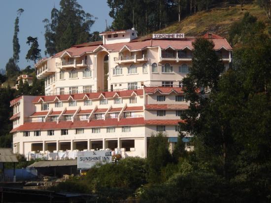 Sunshine Inn : Exterior view of Hotel