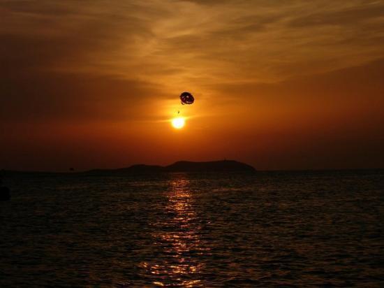 Sant Antoni de Portmany, Spain: En Ibiza, año 2000.