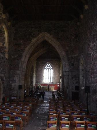 Isle of Iona, UK: Inside Iona Abbey