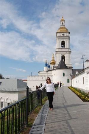 Tobolsk's Kremlin on the hill - Beautiful.  Built in 1571.