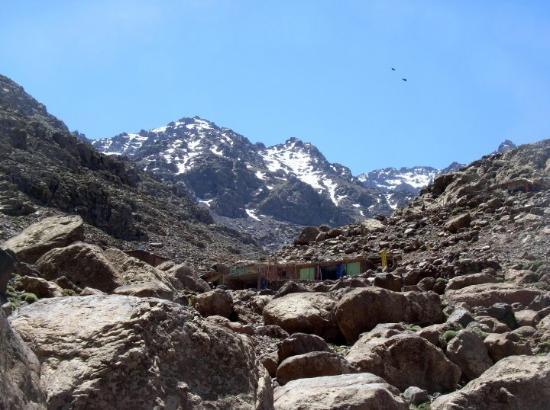 Imlil, Marruecos: Das Marabout Sidi Chamharouch