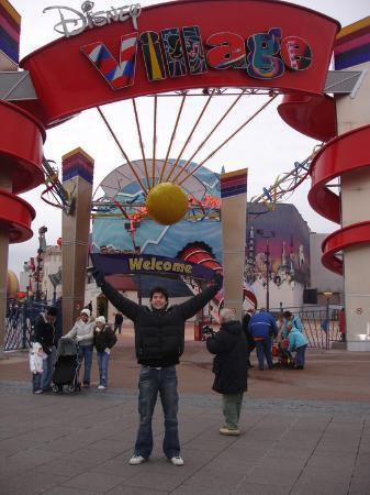 Na Disney Village, parece montagem mas foi sem querer!