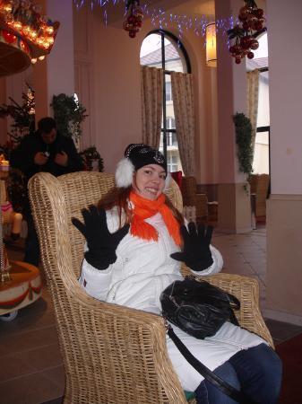 Kyriad Marne-la-Vallee Esbly : À espera do Transfer para a Disney :D