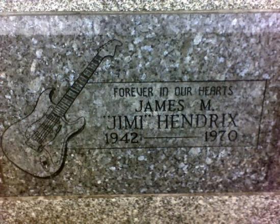 Jimi Hendrix memorial. Renton, WA