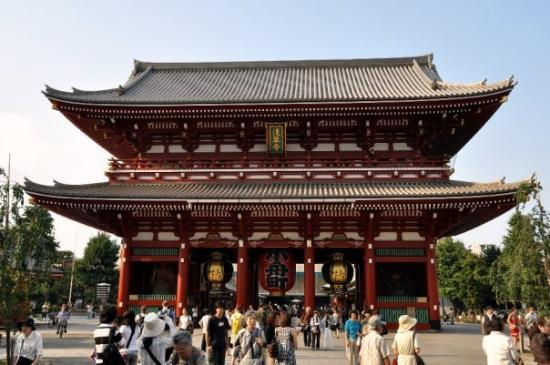 The Asakusa Senso-ji Temple - probably the best site I went to in Tokyo. A Bu...