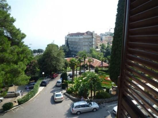 Opatija, view from our hotel window