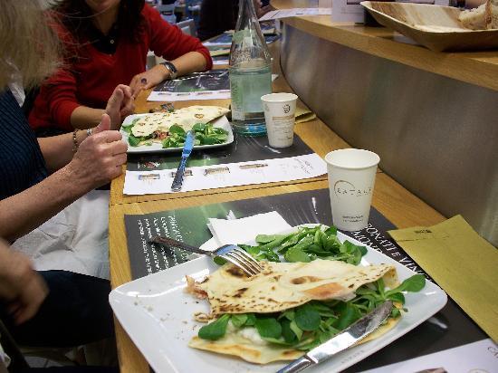 EATALY - Lingotto - VINERIA: piadina