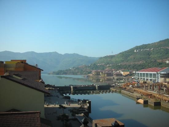 The Waterfront Shaw, Lavasa : View from Hotel Balcony