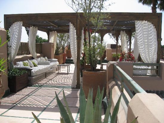 Les Jardins de la Medina: la terrasse / solarium