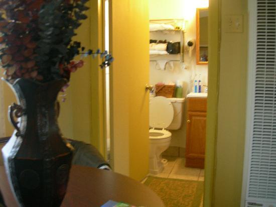 Harmony Motel: Vue sur la salle de bain