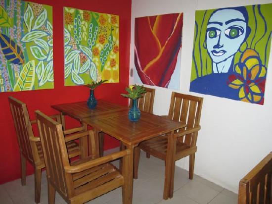 El Punto Hotel: Breakfast Area