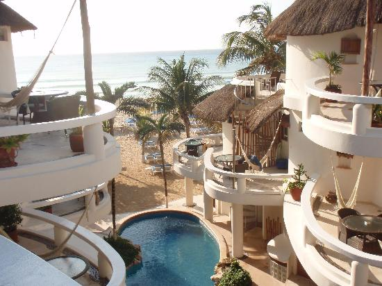 Playa Palms Beach Hotel: room with a view