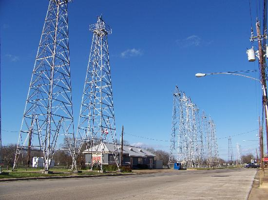 "the ""World's Richest Acre"", downtown Kilgore"