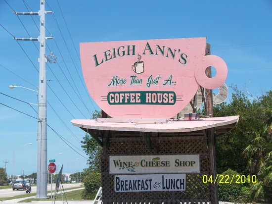 Leigh Ann's Coffee House: How to tell when you've arrived