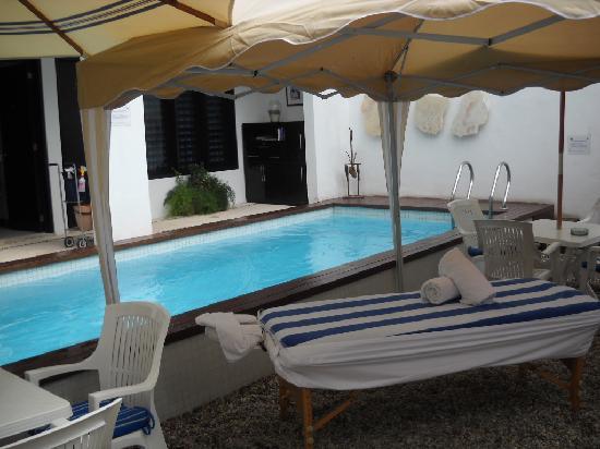 Hotel Casa Ticul: pool aera