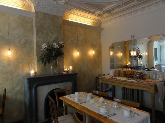 Vrabac Guesthouse: La salle du petit déjeuner