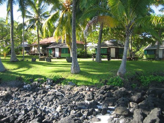 Va-i-Moana Seaside Lodge: Some closed Fales