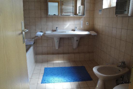 Baldner's Gasthof Schwanen: Double sinks