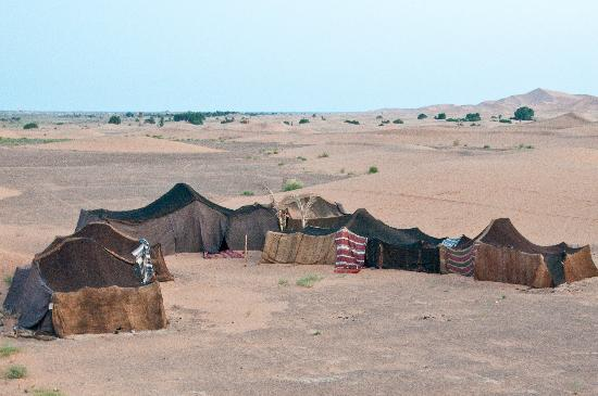 the berber tent in the sahara picture of riad nezha merzouga
