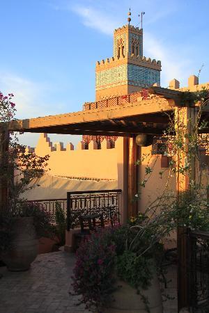 Riad Amin: vue de la terrasse