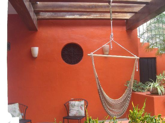 Luz En Yucatan: Terrace of the July 2009 room