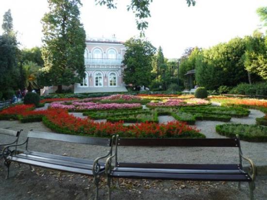 manicured gardens Opatija