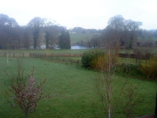 Castle Oaks House Hotel: Views of the Shannon from our room