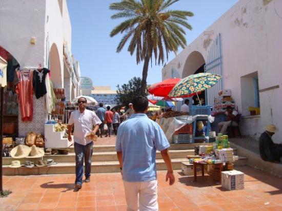 Isla Yerba, Túnez: mercato