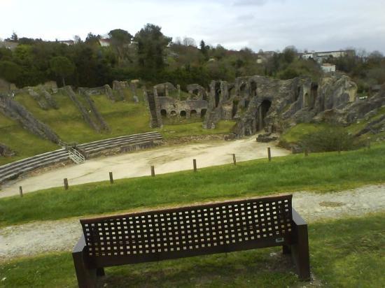 Saintes, Frankreich Ein wunderschönes altes Theater